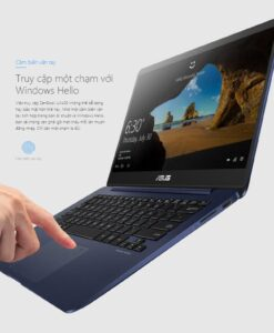 Laptop Asus Zenbook UX430UA-GV126T i5-7200U/4GB/256GBSSD/Win10(Xanh) Hoàng Sơn Computer
