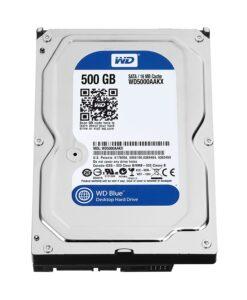 Ổ cứng HHD WesternDigital 500GB