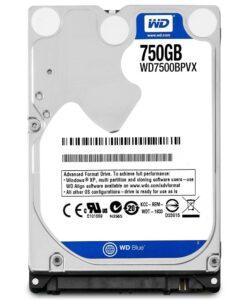 Ổ cứng HHD WesternDigital 750GB