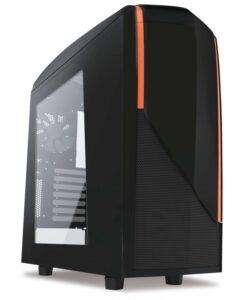 Case máy tính NZXT P240 Black - Orange