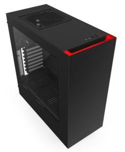 Case máy tính NZXT S340 Black - Red