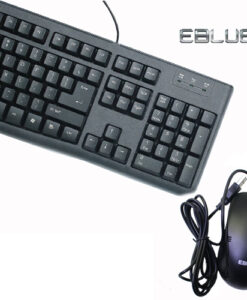Combo chuột phím EBLUE EKM045BK-EMS645BK
