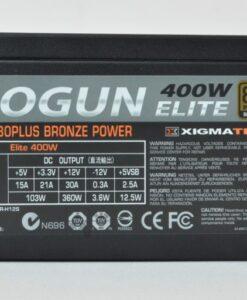 Nguồn Xigmatek Shogun Elite 400W