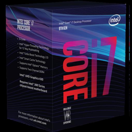 CPU Intel Core i7 8700K 3.7 Ghz Cache 12MB Socket 1151v2