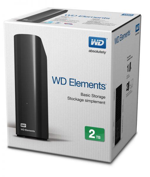 """Ổ cứng di động WD Element 3.5"""" - 2TB"""