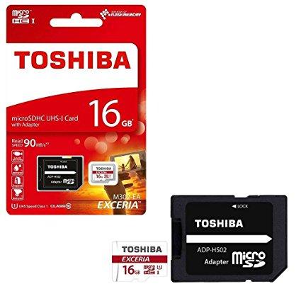 Thẻ nhớ Toshiba 16GB MicroSD Retail