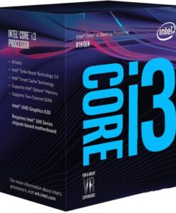 CPU Intel Core i3 8100 3.6 Ghz Cache 6MB Socket 1151v2