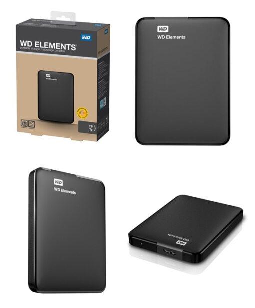 """Ổ cứng di động WD Element 2.5"""" - 3TB"""