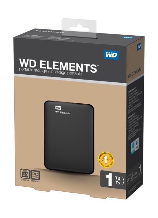 """Ổ cứng di động WD Element 2.5"""" - 1TB"""