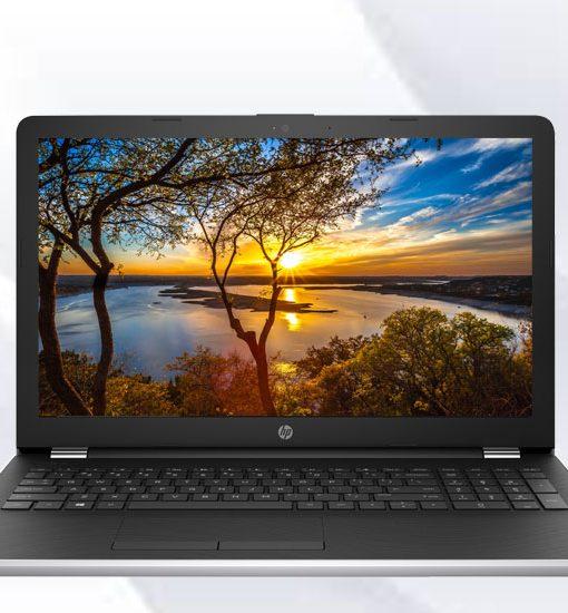 Laptop HP 15-bs555TU Core i3-6006U/4GB/500GB (Bạc)