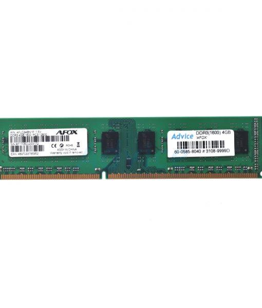 Ram Afox DDR3 4GB bus 1600