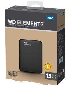 """Ổ cứng di động WD Element 2.5"""" - 1.5TB"""