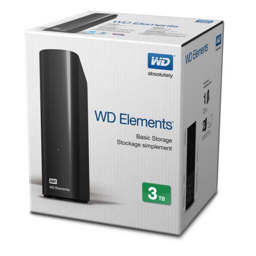 """Ổ cứng di động WD Element 3.5"""" - 3TB"""