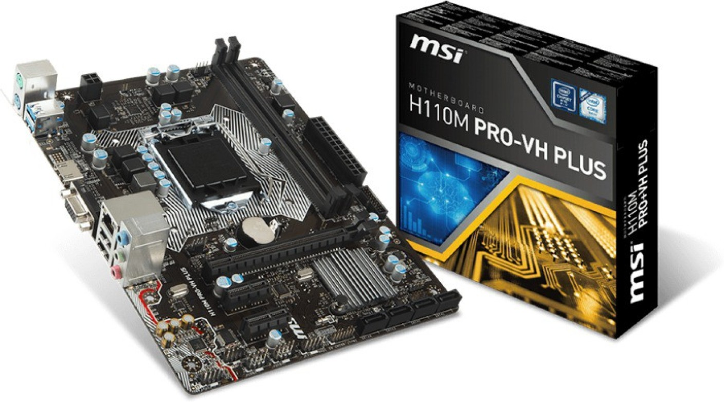 Image result for Bo mạch chủ / Mainboard Msi H110M Pro VH PLUS