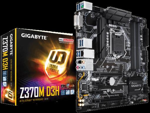 Bo mạch chủ Gigabyte Z370M D3H